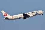 SKY TEAM B-6053さんが、中部国際空港で撮影した日本航空 767-346/ERの航空フォト(写真)