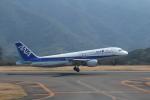 HAC_RENさんが、八丈島空港で撮影した全日空 A320-211の航空フォト(写真)