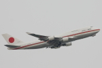 小牛田薫さんが、羽田空港で撮影した航空自衛隊 747-47Cの航空フォト(写真)