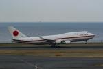Mochi7D2さんが、羽田空港で撮影した航空自衛隊 747-47Cの航空フォト(写真)