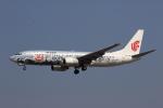 MOHICANさんが、福岡空港で撮影した中国国際航空 737-86Nの航空フォト(写真)
