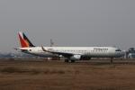 MOHICANさんが、福岡空港で撮影したフィリピン航空 A321-231の航空フォト(写真)