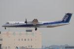 まんぼ しりうすさんが、伊丹空港で撮影したANAウイングス DHC-8-402Q Dash 8の航空フォト(写真)