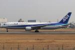 まんぼ しりうすさんが、伊丹空港で撮影した全日空 767-381の航空フォト(写真)