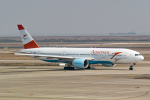 delawakaさんが、上海浦東国際空港で撮影したオーストリア航空 777-2Z9/ERの航空フォト(写真)