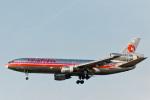 菊池 正人さんが、ロサンゼルス国際空港で撮影したハワイアン航空 DC-10-10の航空フォト(写真)