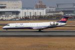 まんぼ しりうすさんが、伊丹空港で撮影したアイベックスエアラインズ CL-600-2C10 Regional Jet CRJ-702の航空フォト(写真)