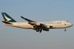 Wings Flapさんが、成田国際空港で撮影したキャセイパシフィック航空 747-467F/ER/SCDの航空フォト(写真)