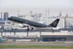 timeさんが、羽田空港で撮影したスターフライヤー A320-214の航空フォト(写真)