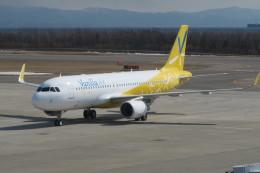 職業旅人さんが、函館空港で撮影したバニラエア A320-214の航空フォト(写真)