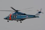 banshee02さんが、東京ヘリポートで撮影した警視庁 AW139の航空フォト(写真)