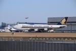 Timothyさんが、成田国際空港で撮影したシンガポール航空カーゴ 747-412F/SCDの航空フォト(写真)