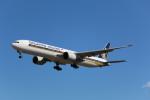 AokaiE531さんが、成田国際空港で撮影したシンガポール航空 777-312/ERの航空フォト(写真)