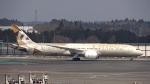 sakuraさんが、成田国際空港で撮影したエティハド航空 787-9の航空フォト(写真)