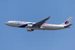mameshibaさんが、成田国際空港で撮影したマレーシア航空 A330-323Xの航空フォト(写真)
