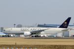 カンクンさんが、成田国際空港で撮影したサウディア 777-FFGの航空フォト(写真)