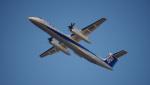 ライトブルーレフトさんが、新潟空港で撮影したANAウイングス DHC-8-402Q Dash 8の航空フォト(写真)