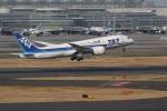 Tomochanさんが、羽田空港で撮影した全日空 787-881の航空フォト(写真)