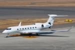 よっしぃさんが、中部国際空港で撮影したウィルミントン・トラスト・カンパニー G-V-SP Gulfstream G550の航空フォト(写真)