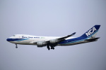 カンクンさんが、成田国際空港で撮影した日本貨物航空 747-4KZF/SCDの航空フォト(写真)