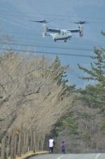 ヨッちゃんさんが、キャンプ富士で撮影したアメリカ海兵隊 MV-22Bの航空フォト(写真)