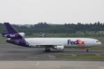 小牛田薫さんが、成田国際空港で撮影したフェデックス・エクスプレス MD-11Fの航空フォト(写真)