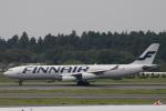 小牛田薫さんが、成田国際空港で撮影したフィンエアー A340-311の航空フォト(写真)