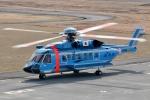 じーのさんさんが、八丈島空港で撮影した警視庁 S-92Aの航空フォト(写真)