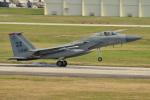kon chanさんが、嘉手納飛行場で撮影したアメリカ空軍 F-15C Eagleの航空フォト(写真)