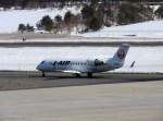 よんすけさんが、青森空港で撮影したジェイ・エア CL-600-2B19 Regional Jet CRJ-200ERの航空フォト(写真)