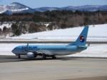 よんすけさんが、青森空港で撮影した大韓航空 737-8BKの航空フォト(写真)