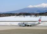 よんすけさんが、青森空港で撮影した日本航空 737-846の航空フォト(写真)