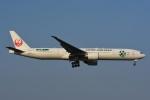 よしポンさんが、成田国際空港で撮影した日本航空 777-346/ERの航空フォト(写真)