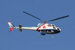 もぐ3さんが、新潟空港で撮影したつくば航空 AS350B Ecureuilの航空フォト(写真)