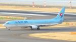 誘喜さんが、羽田空港で撮影した大韓航空 737-9B5/ER の航空フォト(写真)