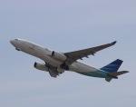OIT_ぐっちさんが、関西国際空港で撮影したガルーダ・インドネシア航空 A330-243の航空フォト(写真)