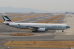 OIT_ぐっちさんが、関西国際空港で撮影したキャセイパシフィック航空 A330-343Xの航空フォト(写真)