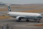 OIT_ぐっちさんが、関西国際空港で撮影したキャセイパシフィック航空 777-367/ERの航空フォト(写真)