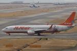 OIT_ぐっちさんが、関西国際空港で撮影したチェジュ航空 737-8ASの航空フォト(写真)
