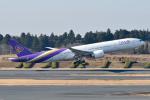 panchiさんが、成田国際空港で撮影したタイ国際航空 777-3AL/ERの航空フォト(写真)