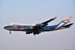 さくらの城南山。さんが、成田国際空港で撮影したエアブリッジ・カーゴ・エアラインズ 747-4HAF/ER/SCDの航空フォト(写真)
