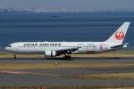 ウッディーさんが、羽田空港で撮影した日本航空 767-346/ERの航空フォト(写真)