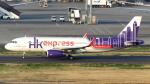 誘喜さんが、羽田空港で撮影した香港エクスプレス A320-232の航空フォト(写真)