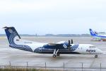 臨時特急7032Mさんが、鹿児島空港で撮影したオーロラ DHC-8-315Q Dash 8の航空フォト(写真)