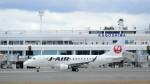 Koj-skadb1621_2116さんが、鹿児島空港で撮影したジェイ・エア ERJ-170-100 (ERJ-170STD)の航空フォト(写真)