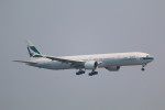 AokaiE531さんが、羽田空港で撮影したキャセイパシフィック航空 777-367/ERの航空フォト(写真)