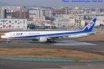 いおりさんが、福岡空港で撮影した全日空 777-381の航空フォト(写真)