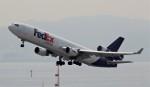 ユージ@RJTYさんが、関西国際空港で撮影したフェデックス・エクスプレス MD-11Fの航空フォト(写真)