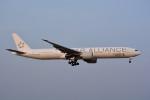 トロピカルさんが、成田国際空港で撮影したシンガポール航空 777-312/ERの航空フォト(写真)