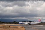 うめたろうさんが、鹿児島空港で撮影したチャイナエアライン 737-8MAの航空フォト(写真)